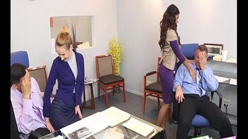 DaughterSwap - Bring Your Daughter To Work Day - Gigi Flamez And Katalina Mills