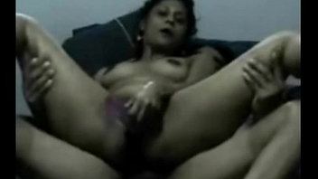 Arab Girlfriend Reverse Cowgirl Riding While Playing Dildo