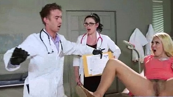 Magnificent Horny Patient (aaliyah veruca) Get Sex Treat From Doctor video-01