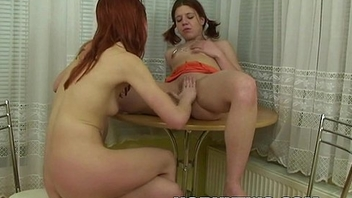 Fisting lesbo petite young teen bitches getting horny wet pussies stretched wide