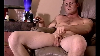 Roasting cute lad Keith milks his fat meat for some cash