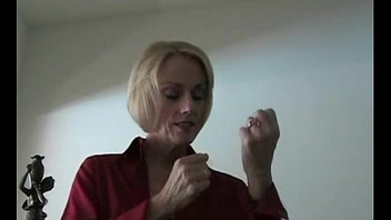 Amateur GILF Pleasures Her Son