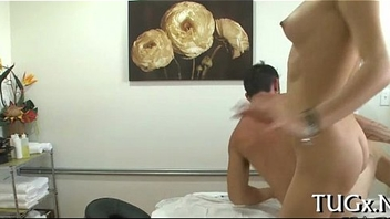 Honey turns massage into fucking