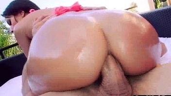 Anal Sex Tape With Through-and-through Big Ass Oiled Up Sexy Girl (jynx maze) movie-11